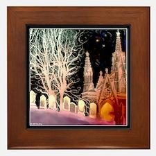 """Poe's """"Alone"""" Framed Tile"""