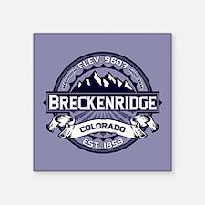 """Breckenridge Blueberry Square Sticker 3"""" x 3"""""""