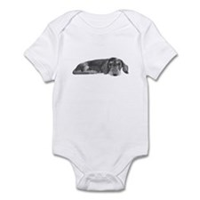 Wire Haired Dachshund Infant Bodysuit