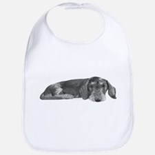 Wire Haired Dachshund Bib