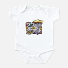 Hannukah Party Infant Bodysuit