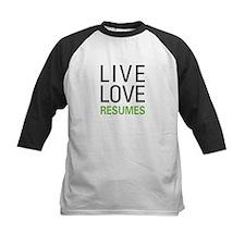 Live Love Resumes Tee