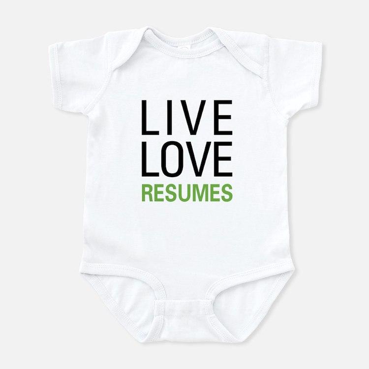 Live Love Resumes Infant Bodysuit