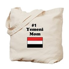 #1 Yemeni Mom Tote Bag