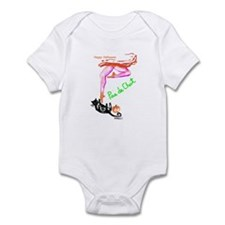 Playful pas de chat Infant Bodysuit