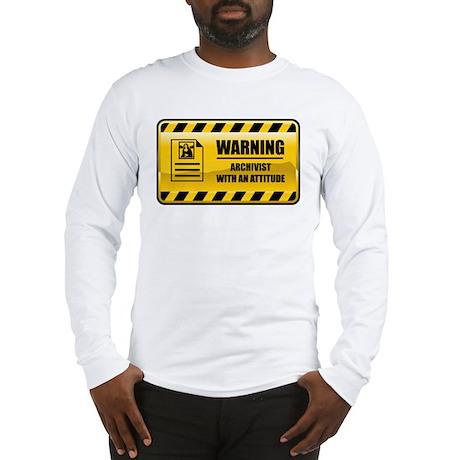 Warning Archivist Long Sleeve T-Shirt