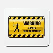 Warning Archer Mousepad