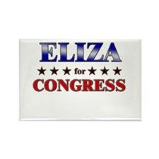 ELIZA for congress Rectangle Magnet