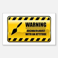 Warning Archaeologist Rectangle Decal