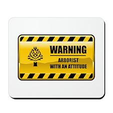 Warning Arborist Mousepad