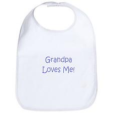 Cute Grandpa baby Bib