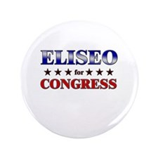 "ELISEO for congress 3.5"" Button"