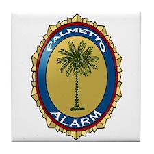 Palmetto Alarm Tile Coaster