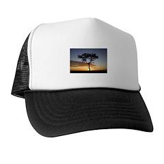 Acacia Tree At Sunrise Trucker Hat