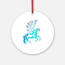 Simple Pegasus Ornament (Round)