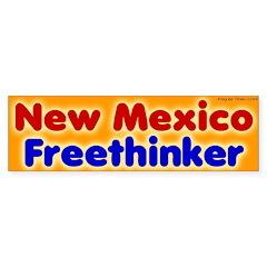 New Mexico Freethinker Bumper Bumper Sticker