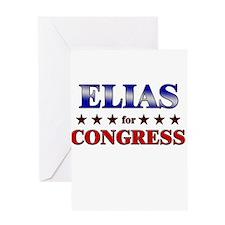 ELIAS for congress Greeting Card