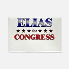 ELIAS for congress Rectangle Magnet