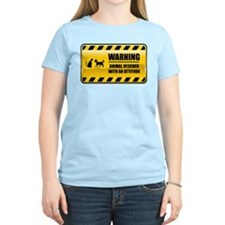 Warning Animal Rescuer T-Shirt