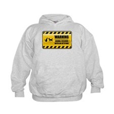 Warning Animal Rescuer Hoodie