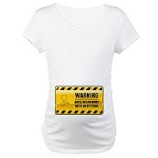 Warning Anesthesiologist Shirt