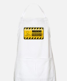 Warning Anesthesiologist BBQ Apron
