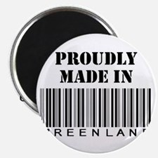Proudly made in Greenland Magnet