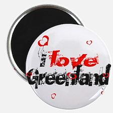 i love Greenland Magnet