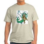 Anime Merman Ash Grey T-Shirt