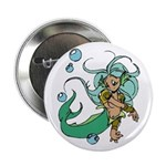 Anime Merman Button