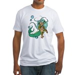 Anime Merman Fitted T-Shirt