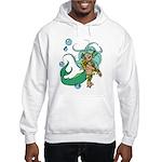 Anime Merman Hooded Sweatshirt