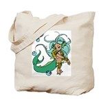 Anime Merman Tote Bag