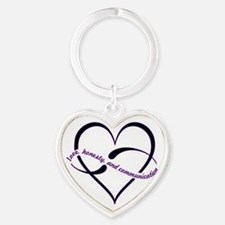 Love, honesty and communication Keychains