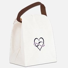 Love, honesty and communication Canvas Lunch Bag