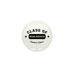 Class of 1988 Mini Button (10 pack)
