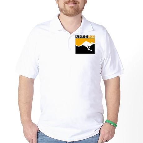 Kangaroos Rock Golf Shirt