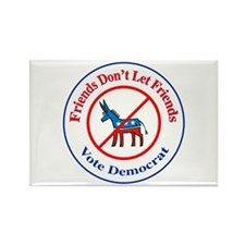 Anti-Democrat Rectangle Magnet