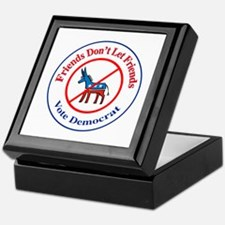 Anti-Democrat Keepsake Box