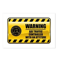 Warning Air Traffic Controller Postcards (Package