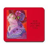 Purple cats Classic Mousepad