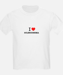 I Love SCLERODERMA T-Shirt