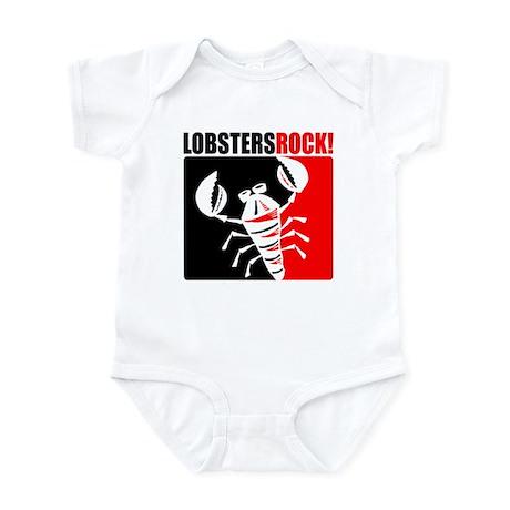 Lobsters Rock Infant Bodysuit