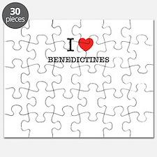 I Love BENEDICTINES Puzzle