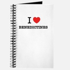 I Love BENEDICTINES Journal