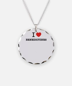 I Love BENEDICTINES Necklace