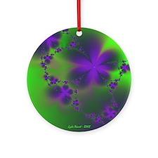 Violets Keepsake (Round)