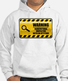Warning Agricultural Inspector Hoodie