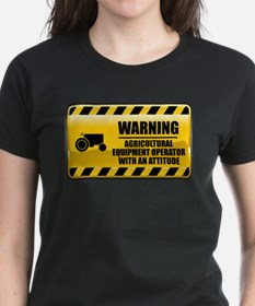 Warning Agricultural Equipment Operator Tee