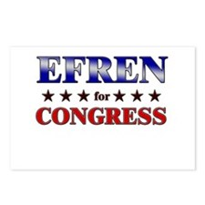 EFREN for congress Postcards (Package of 8)